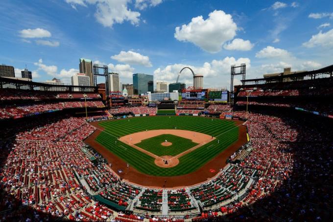 St. Louis Cardinals vs. Los Angeles Angels Of Anaheim at Busch Stadium