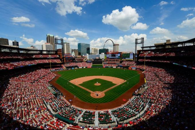 St. Louis Cardinals vs. Kansas City Royals at Busch Stadium