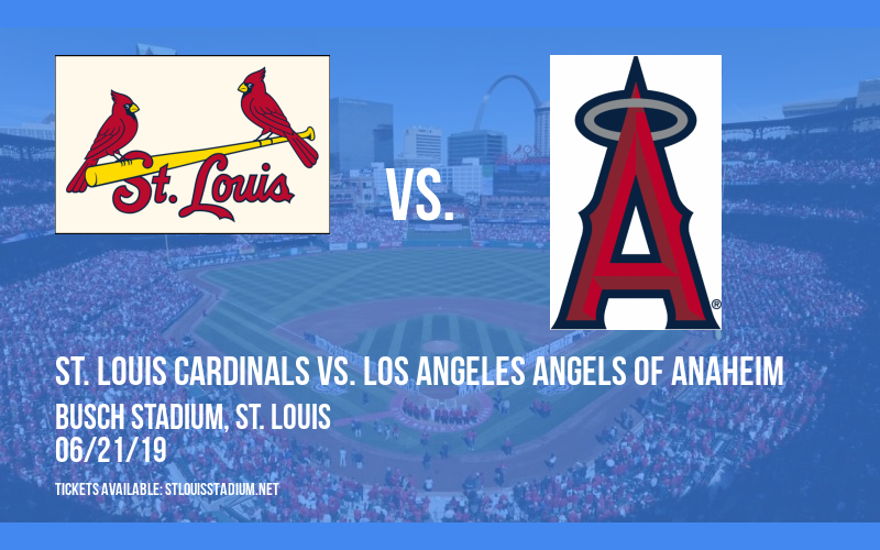 St. Louis Cardinals vs. Los Angeles Angels Of Anaheim at Busch Stadium