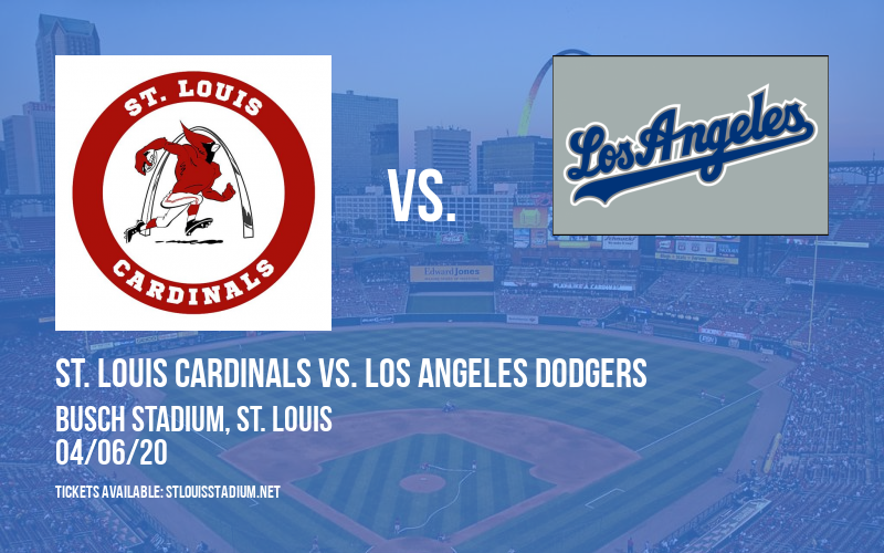 St. Louis Cardinals vs. Los Angeles Dodgers at Busch Stadium