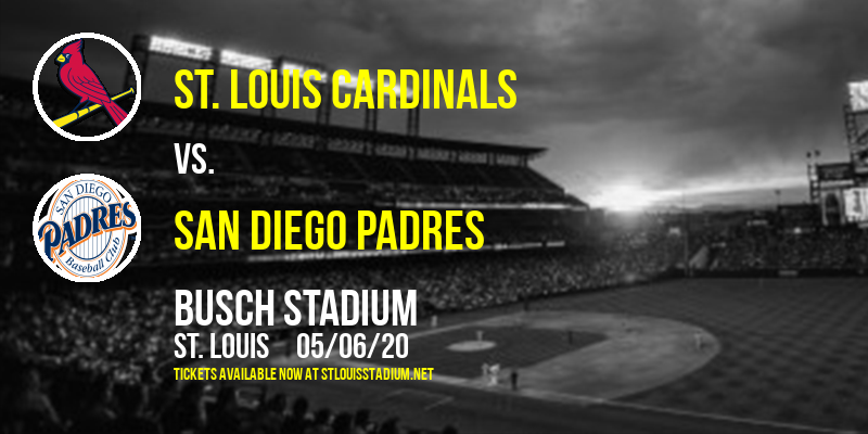 St. Louis Cardinals vs. San Diego Padres at Busch Stadium