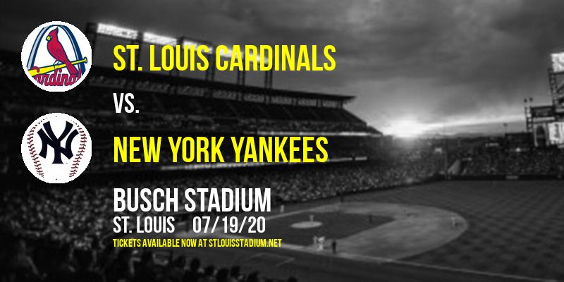 St. Louis Cardinals vs. New York Yankees at Busch Stadium