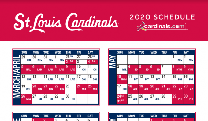 St. Louis Cardinals vs. Miami Marlins [CANCELLED] at Busch Stadium