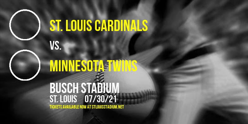 St. Louis Cardinals vs. Minnesota Twins at Busch Stadium
