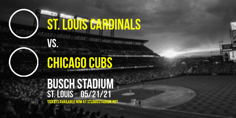 St. Louis Cardinals vs. Chicago Cubs [CANCELLED] at Busch Stadium