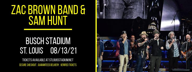 Zac Brown Band & Sam Hunt [CANCELLED] at Busch Stadium