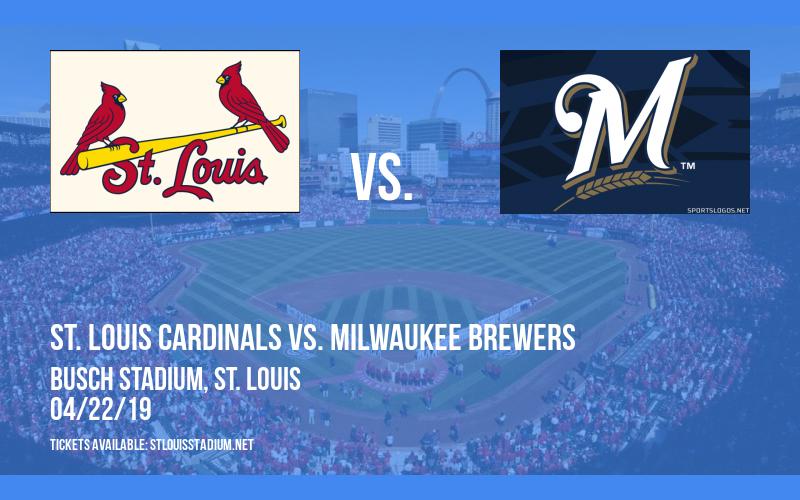 St. Louis Cardinals vs. Milwaukee Brewers at Busch Stadium