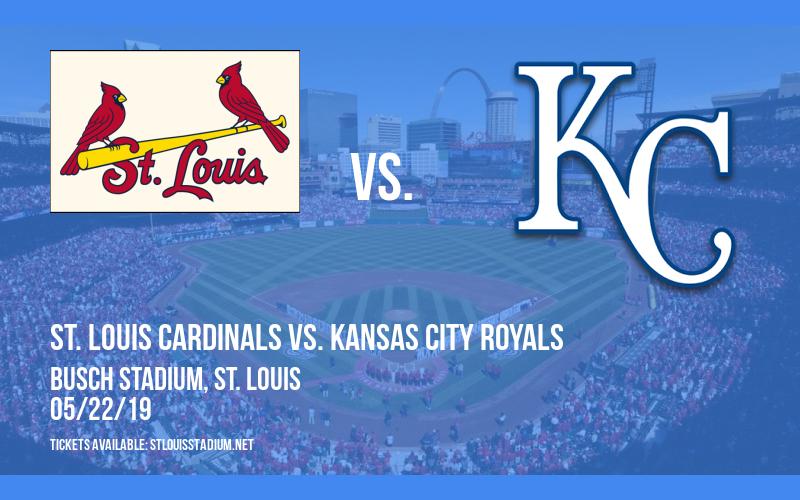 St. Louis Cardinals vs. Kansas City Royals at Busch Stadium