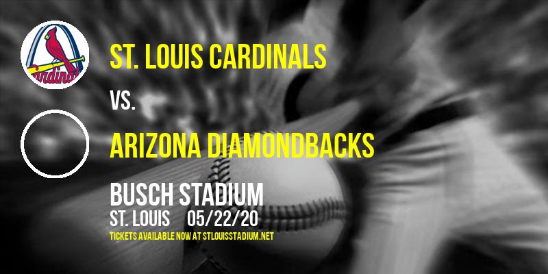 St. Louis Cardinals vs. Arizona Diamondbacks at Busch Stadium