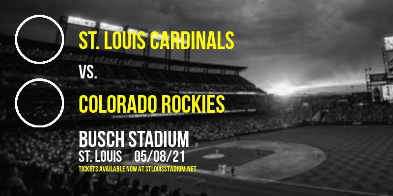 St. Louis Cardinals vs. Colorado Rockies [CANCELLED] at Busch Stadium