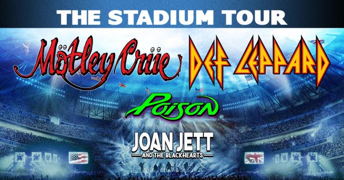 The Stadium Tour: Motley Crue, Def Leppard, Poison & Joan Jett and The Blackhearts at Busch Stadium